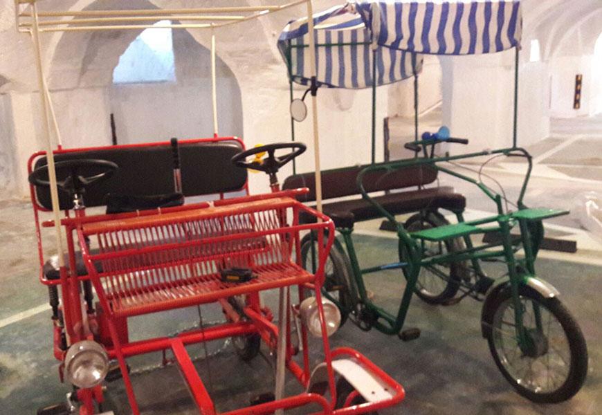 Rent bike risciò La Vitagira Casa Vacanze Monopoli